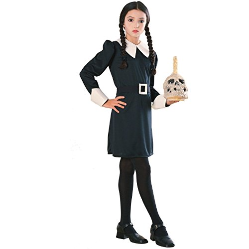 Addams Family Child's Wednesday Costume, (Munster Fancy Dress Costumes)
