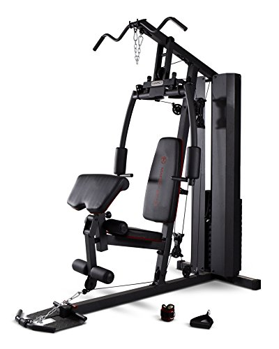 Marcy Stack Dual Function Home Gym – 200 lb. Stack MKM-81010