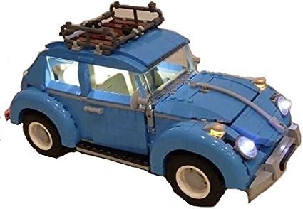 for Lego 10252 Volkswagen Beetle White USB Powered LED Light Kit