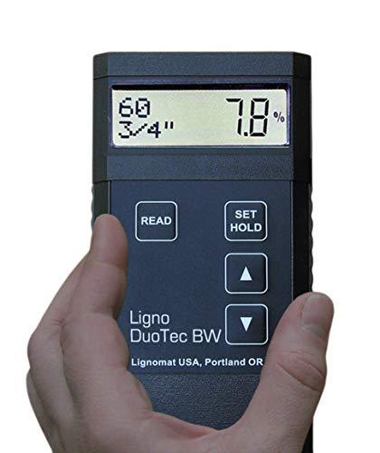 Lignomat BW Dual-depth Pinless Moisture Meter with RH Capabilities ()