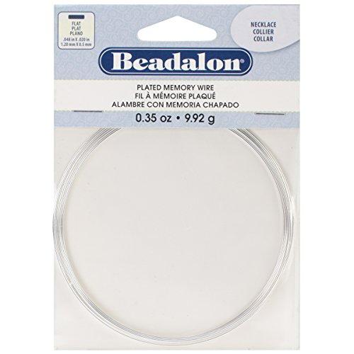 Beadalon Silver Necklace Beading 0 35 Ounce