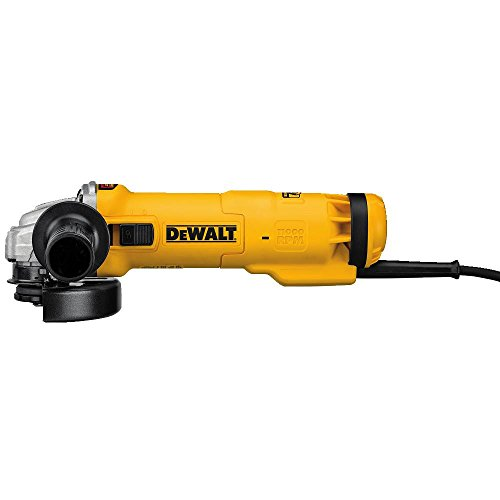 DEWALT DWE4224 Small Angle Slide Switch Grinder with Brake, 4.5 inch