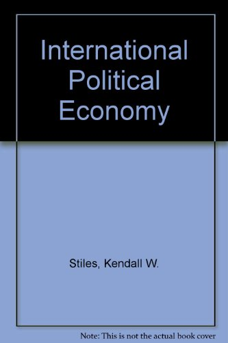 International Political Economy: A Reader