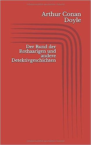 Book Der Bund der Rothaarigen und andere Detektivgeschichten (German Edition)