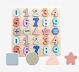 GEMEM Wooden Alphabet Chunky Puzzles Set ABC