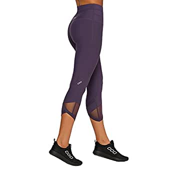 Lorna Jane Women's Chakra Core 7/8 Tight, Night Violet, Large