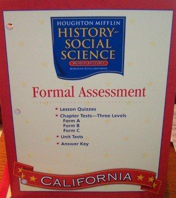 Houghton Mifflin Social Studies California  Assessmnt Opt Blm Tae L6 By Houghton Mifflin  2005 06 24