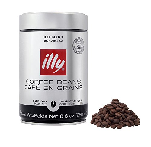 illy - Whole Bean Coffee - Dark Roast - 8.8 oz (250g) - Case Pack of 6 by Illy (Image #2)