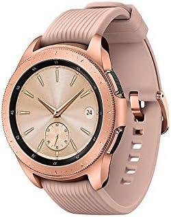 Samsung Galaxy Watch (42mm, GPS, Bluetooth, Unlocked LTE) – Rose Gold (US Version) 41kkQymQXnL