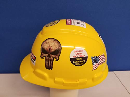 56 pack of Mexican American Edition Crude Humor Hilarious Hard Hat Prank Decal Joke Sticker Funny Laugh Construction LOL by Decals by Haley (Image #1)