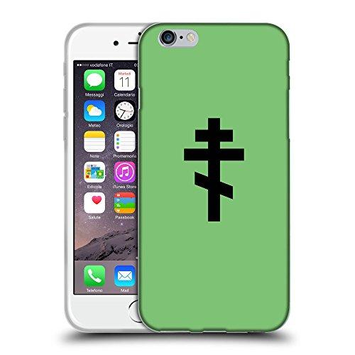"GoGoMobile Coque de Protection TPU Silicone Case pour // Q08510629 Religion 15 Pastel Vert // Apple iPhone 6 PLUS 5.5"""