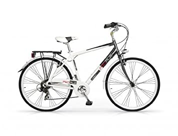 MBM PEOPLE MAN BICYCLE 28 7S TREKKING CITY BIKE H50 WHITE ...