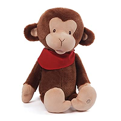 Gund Baby Animated Stuffed Toy, Move with Me Monkey