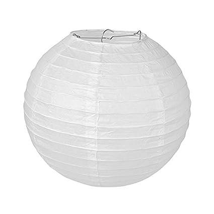 Pajoma – Lámpara de techo, papel, color blanco, papel, Weiss ...
