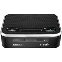 Uniden BTS200 Portable Wireless Speaker & Speakerphone with Removable Cell Phone Charger - Cell Phone Accessory