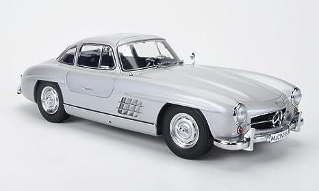 Mercedes 300 Sl W198 Silber Sondermodell Mcw Limitierte Auflage 500 Stück Modellauto Fertigmodell Premium Classixxs 1 12 Spielzeug