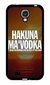 Hakuna Ma'Vodka TPU RUBBER SILICONE Phone Case Back Cover Samsung Galaxy S4 I9500