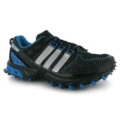 ba5392b4429 adidas Kanadia TR4 Mens Running Shoes Black Silver Blue 9 UK UK   Amazon.co.uk  Shoes   Bags