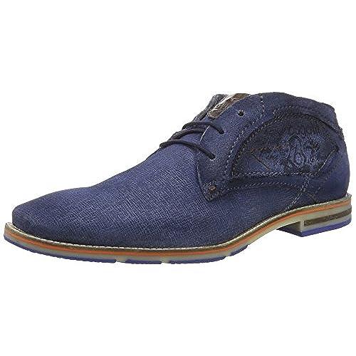 cheap for discount 2e5e3 1a384 Bugatti Men Lace-Up Shoes blue, (dark blue) 311254021400-4100 30