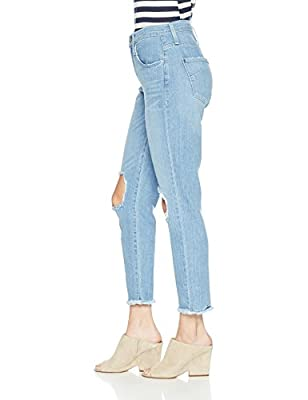 James Jeans Women's Donna High Rise Mom Jean In Topanga