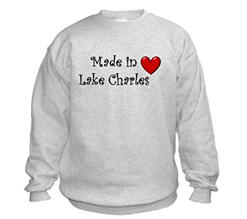 MADE IN LAKE CHARLES - City-series - Light Grey Sweatshirt - size XXL]()