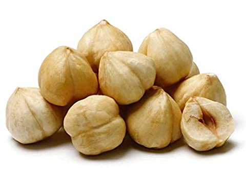 NUTS U.S. - Roasted, Unsalted, Blanched Turkish Hazelnuts (3 LB) (Hazelnut Roasted)