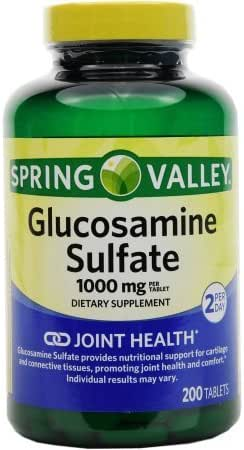 Spring Valley Glucosamine Sulfate, 1000 mg, 200 tablets by Spring Valley