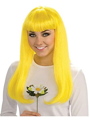 Endless Road 52851/157 Yellow Smurfette Wig Only Adult Smurfs]()