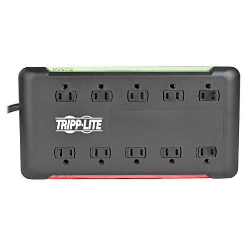 Tripp lite 6 outlet surge protector power strip 6ft cord