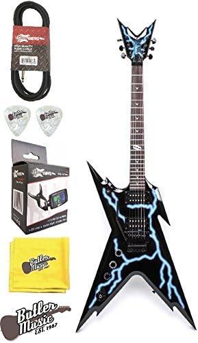 Dean RZR DB F LTNG LH Dimebag Lefty Floyd Lightning guitarra eléctrica w/caso de L y más: Amazon.es: Instrumentos musicales