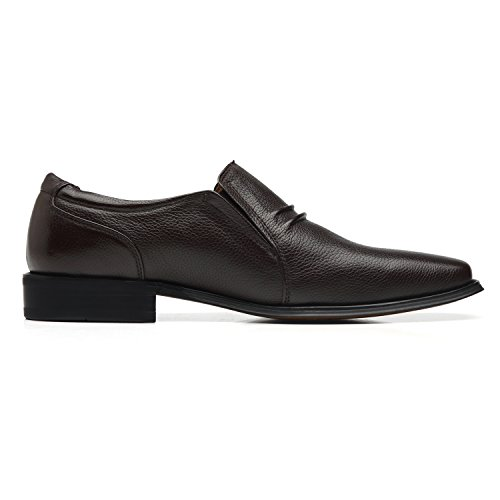 La Milano Men's Slip On Loafers Business Casual Comfortable Classic Leather Dress Shoes for Men by La Milano (Image #2)