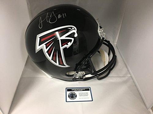 Julio Jones Autographed Signed Atlanta Falcons Full Size Helmet COA & Hologam