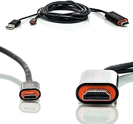 Saxonia - Adaptador de SlimPort a HDMI (Ultra HD, HDTV) para ...