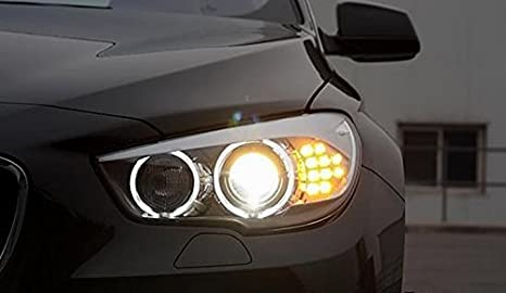 Leadrise 2 x Ultra bright 7000 KLED luz Angel Eye Halo borde bombilla para BMW E90 E91 Blanco Azul Rojo: Amazon.es: Coche y moto