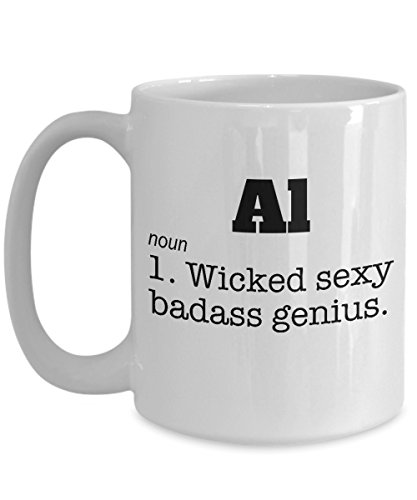 (Al Coffee Mug Name Meaning Definition Wicked Sexy Genius Ceramic Tea Cup Funny Gift Novelty Sarcasm Men)