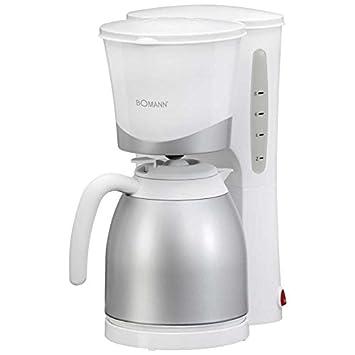Bomann Kaffeemaschine Mit Thermoskanne Ka 168 Weiß U2013 Amazon Verkäufer.  Angebote Für Ihr Zuhause.