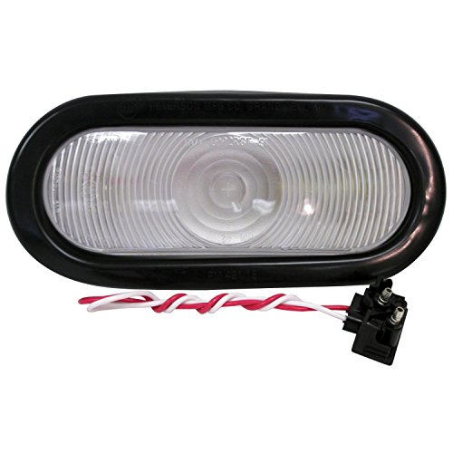 Anderson Marine 416K 416 Series Sealed Oval Back-Up Light - Clear Kit (Series Light Backup)