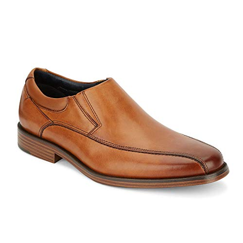 dockers Mens Franchise 2.0 Leather Dress Oxford Shoe, Butterscotch, 9.5 M