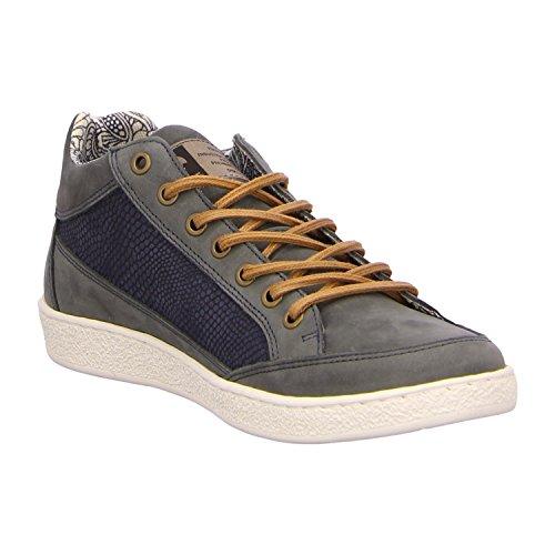 BULLBOXER 735K55915ANAOR - Botas de Piel para hombre Azul - azul marino