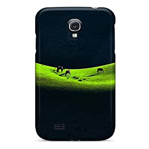 Top Quality Rugged Horses On The Prairie Case Cover For Galaxy S4
