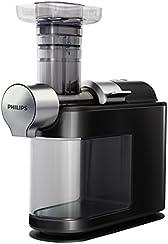 Philips HR1946/70 - Licuadora avance MicroMasticating para mayor extracción de fibra, fácil limpieza, orifico de entrada XL, color negro