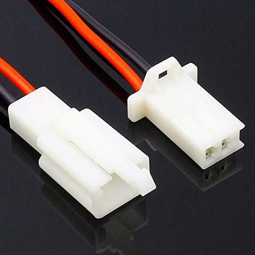 XJYWJ ケーブル/全長21センチメートルで1つのキット2ピンウェイ電線コネクタプラグセット自動コネクター