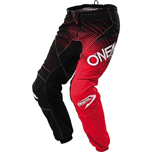 O'Neal Youth Element Racewear Pant (Black/Red, Size 5/6)