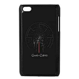 iPod Touch 4 Case Black quotes 14 game of clones OJ391012