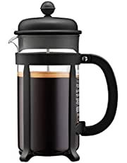 Bodum 1908-01 JAVA 8-Cup Coffee Press, 1Litre, Black