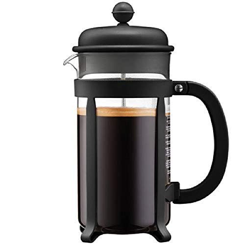 Bodum Java French Press Coffee Maker, 34 Ounce, 1 Liter, (8 Cup), Black