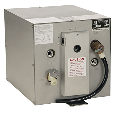 WATER HEATER, 6 gallons, 120 VAC/ Rear Mounted Heat Exchanger
