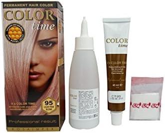 Pack Ahorro de 2 x Tintes Permanente para el Cabello de Color Rubio Rosa Claro 95