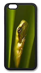 iphone 6 plus 5.5inch Case iphone 6 plus 5.5inch Cases Hiding Frog Animal TPU Rubber Soft Case Back Cover for iphone 6 plus 5.5inch black