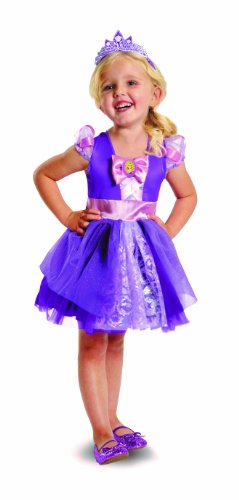 Disguise Disney's Tangled Rapunzel Ballerina Classic Girls Costume, 3T-4T (Ballerina Princess Toddler And Girls Costume)